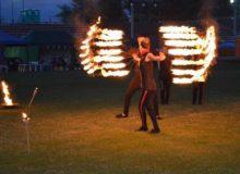 zaplecze estradowe pokaz tanca z ogniem 220x160